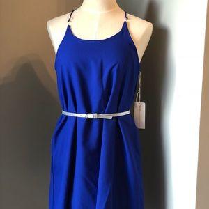 Women TRUTH  nyc  Blue Dress sz M